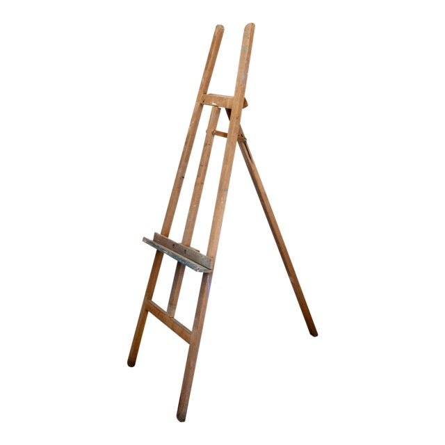 Vintage French Adjustable Painter's Easel - Image 1 of 7