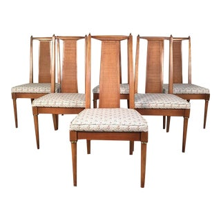 American Of Martinsville Mid-Century Modern Dining Chairs - Set Of 6