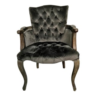 Vintage Style Tufted Accent Chair