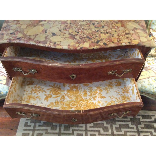 Louis XV Style Parquetry Commode - Image 7 of 8