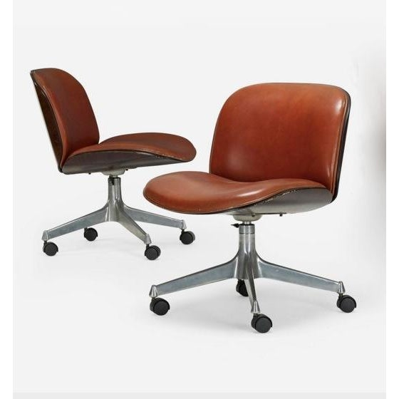 Ico Parisi Office Chair for Mim - A Pair - Image 2 of 5