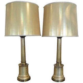 Paul Hanson Hollywood Regency Lamps -  A Pair