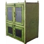 Image of Vintage Lime Cupboard