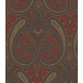 Ralph Lauren Galsworthy Paisley Crimson Fabric - 5 Yards