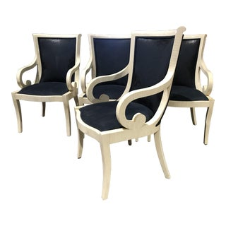 Tessellated Bone Martin Brattrud Dining Chairs - Set of 4