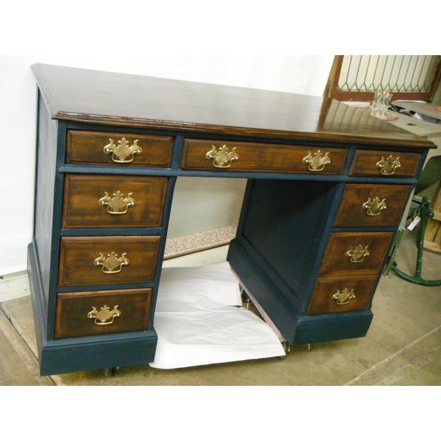 Antique Painted Federal Style Desk - Image 6 of 11