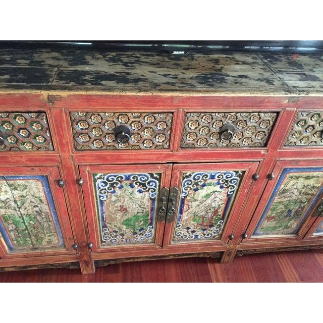 ABC Carpet & Home Vintage Asian Credenza - Image 5 of 9