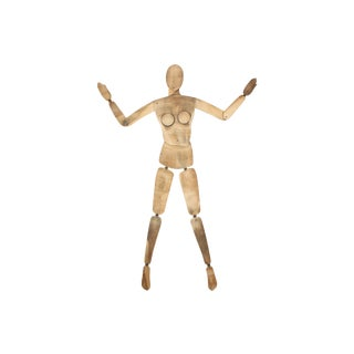 French Wood Mannequin, Female