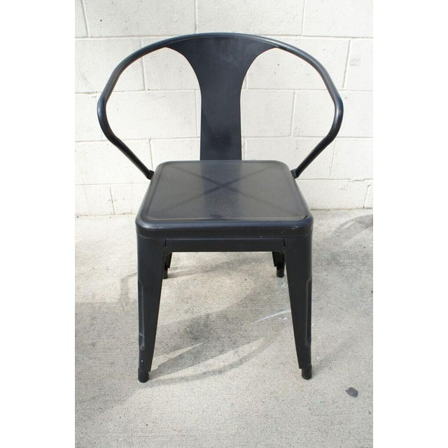 Tolix Dining Chairs- Set of 4 - Image 4 of 9