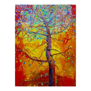 """Tree of Life"" Textured Oil Painting"