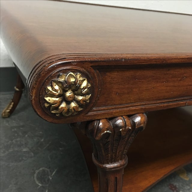 Regency Style Coffee Table - Image 6 of 7