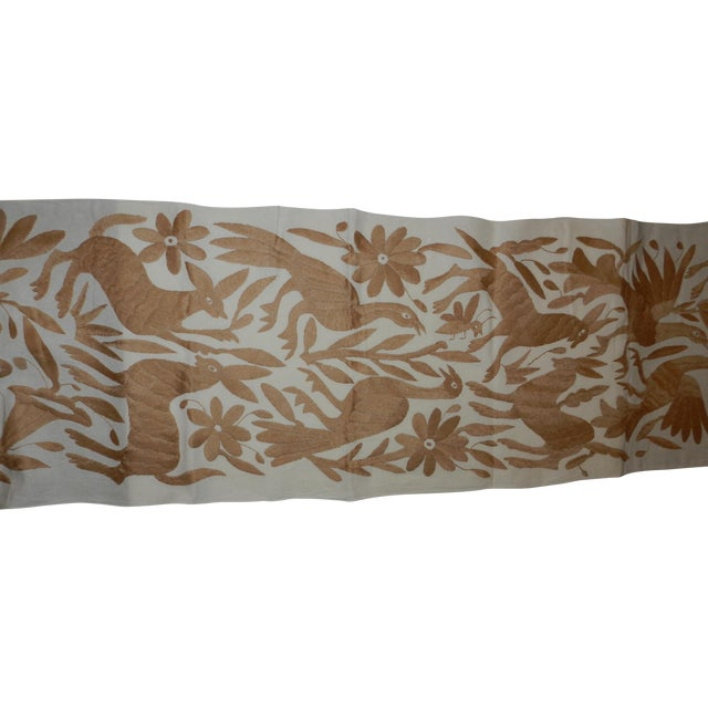 Traditional Otomi Table Runner - Image 1 of 4