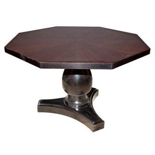 Ralph Lauren Macassar Ebony Pedestal Table