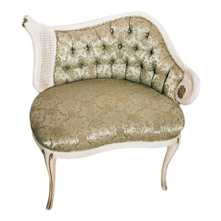 Rococo Revival Tufted Chair