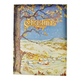 1943 Christmas Book, An American Annual of Christmas Literature and Art- Volume 13