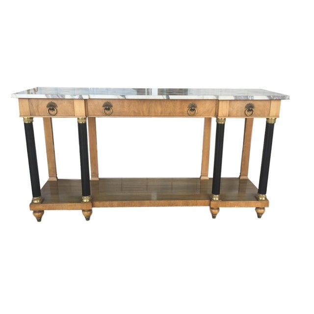 John Widdicomb Neoclassical Console Table - Image 1 of 4