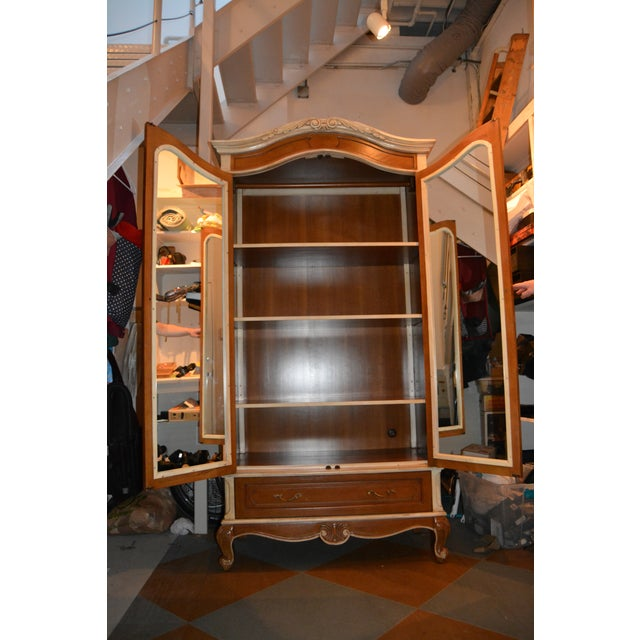 French Heritage Wooden Laon Armoire - Image 3 of 11