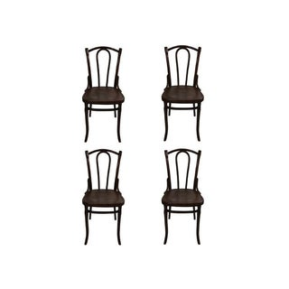 Original Thonet Coffeehouse Chairs - Set of 4