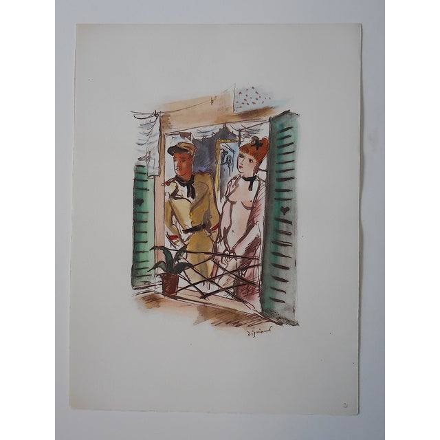 Image of Dignimont Mid 20th C. Lithograph