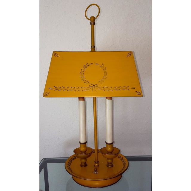 Golden Tole Desk Lamp - Image 2 of 6