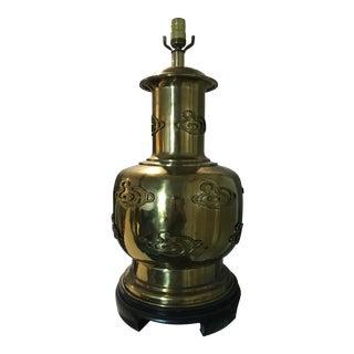 Vintage Brass Urn Lamp