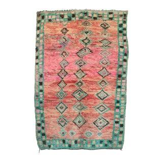 "Vintage Azilal Moroccan Rug - 4'7"" x 6'8"""