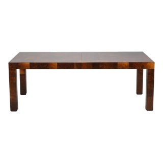 Paul Evans Parsons Table in Burl Patchwork