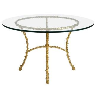 Maison Bagues Bronze Center Table
