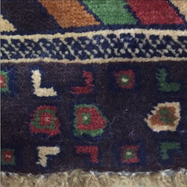 Baluchi Persian Rug - 2′3″ × 4′8″ - Image 8 of 8