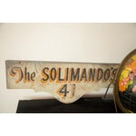 Image of Vintage Deco Double Sided House Sign Solimando's