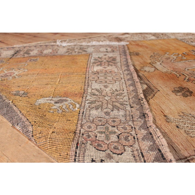 Turkish Hand Knotted Family Rug - 3′10″ × 5′9″ - Image 5 of 7