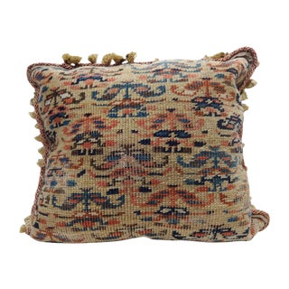 Antique Caucasian Carpet Fragment Pillow