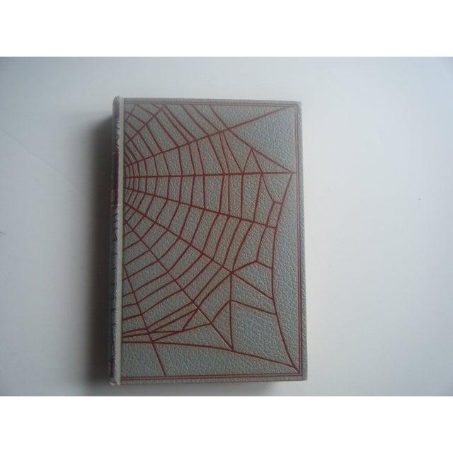 Image of 1930s Vintage Mystery Spiderweb Books - Set/3