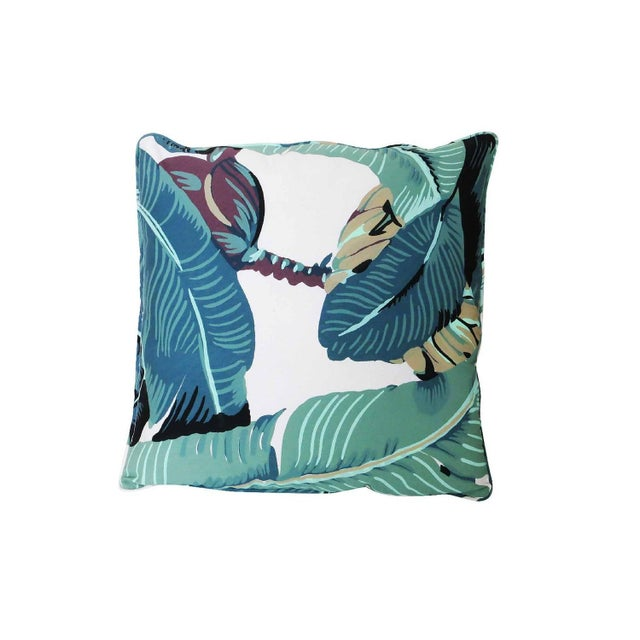 "Beverly Palm ""Martinique Banana Leaf"" Pillow - Image 2 of 2"