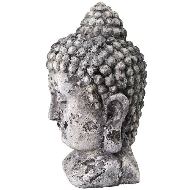 Concrete Buddha Head - Image 2 of 5