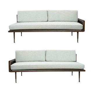Mid-Century Modern Sectional Day Beds - a Pair