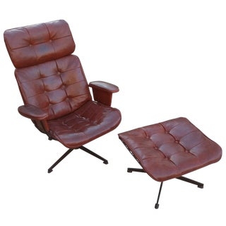 Homecrest Swivel Rocker & Ottoman