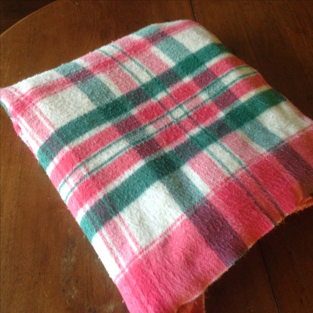 Vintage Plaid Picnic/Gameday Blanket - Image 11 of 11