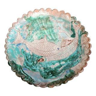 Large Italian Platter with Fish