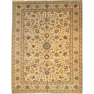Pasargad Ny Original Kashan Hand-Knotted Rug - 10' X 13'1""