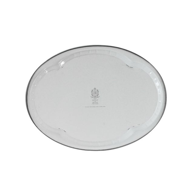 Image of Chinoiserie Steel Serving Tray