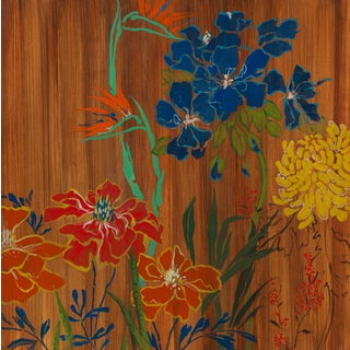 "Liz Jardine""Bountiful Garden"" Painting"