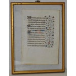 Image of Illuminated Medieval Manuscript
