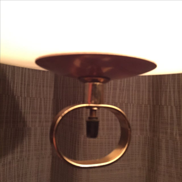 Image of Mid-Century Atomic Copper Pendant