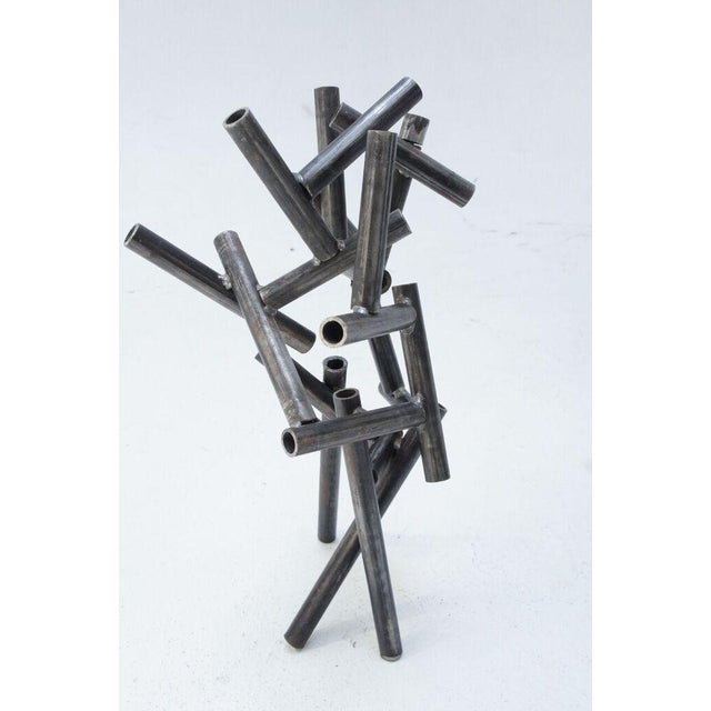 Metal Pipe Sculpture - Image 2 of 9