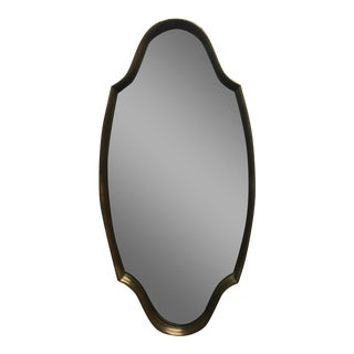 Turner 1960s Modern Sculptural Gold Leaf Mirror