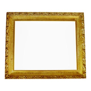 Vintage Gold Gilt Gesso Wood Picture Frame