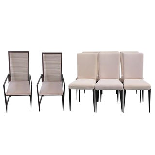 Pierantonio Bonacina Astoria Form Dining Chairs-Set of 8