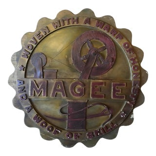 Magee Painted Wood Trade Sign