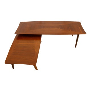 Mid Century Expanding Walnut Coffee Table